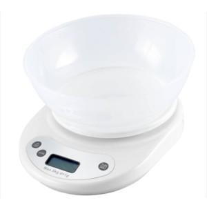 Ваги кухонні DARIO DKS-505С white, 5 кг, з чашей
