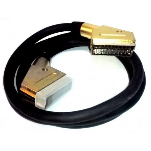Кабель SCART-SCART 21 pin HQ, (хорошего качества)
