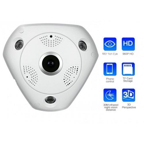 Камера потолочная CAMERA CAD 1317 VR CAM 1.3mp-360гр-dvr 163-ip
