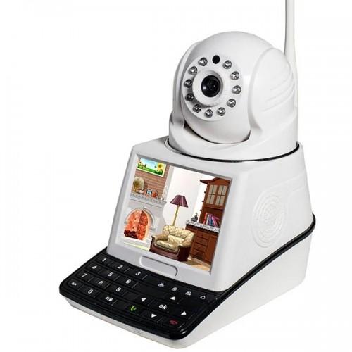 Камера видеонаблюдения с экраном NET CAMERA
