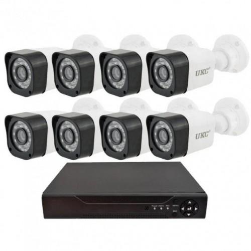 Камери відеоспостереження DVR KIT 945 8ch Gibrid (H.264 AHD) набір на 8 камер