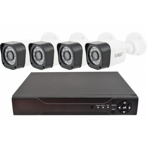 Камери відеоспостереження DVR KIT CAD D001 2mp\4ch