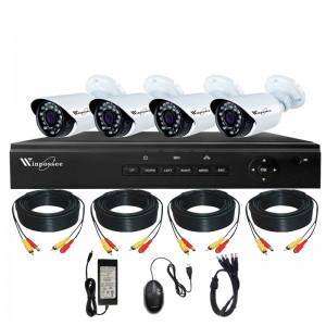Комплект Видеонаблюдения DVR AHD 4CH KIT