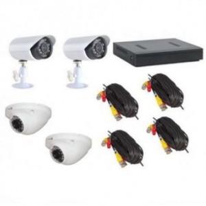 Комплект Видеонаблюдения DVR KIT AHD 7904 Рег.+ Камеры