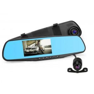 DVR Видеорегистратор зеркало AK 47 на две камеры