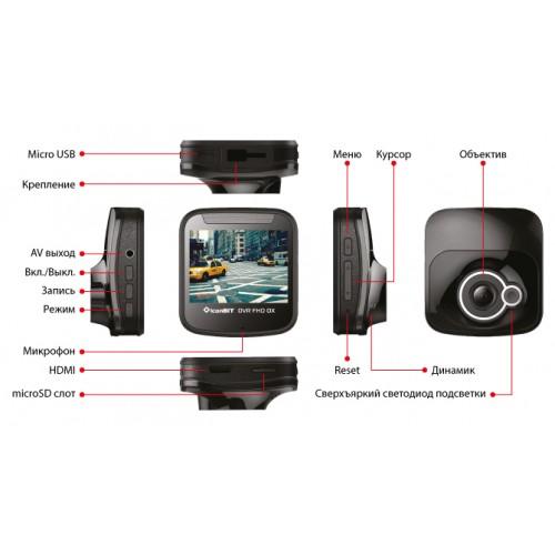 Видеорегистратор FullHD 1080p/HDMI iconBIT DVR FHD DX (DV-0024F)