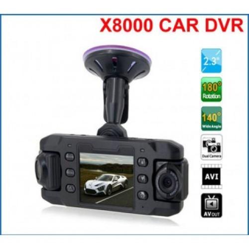 Видеорегистратор на две камеры CarCam III X8000