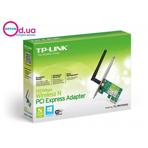 Wi-Fi адаптер PCI Express TP-LINK TL-WN781ND