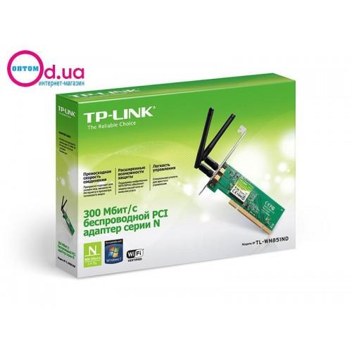 Wi-Fi PCI-адаптер TP-LINK TL-WN851ND
