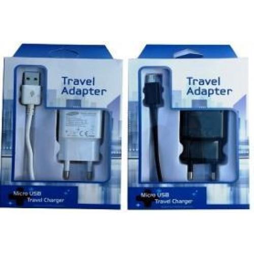 СЗУ micro USB черный 10W TRAVEL ADAPTOR  (2000 Mah)