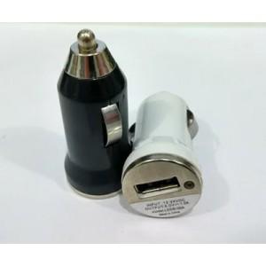 Зарядное устройство 12V 1 USB без упаковки для автомобиля