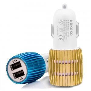 Зарядное устройство 12V 2 USB