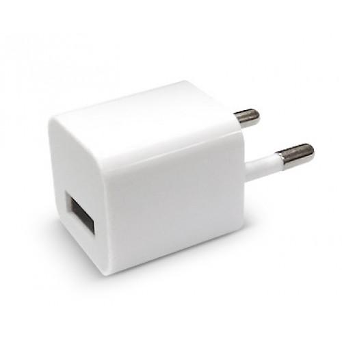 Зарядное устройство 1USB 1A Кубик