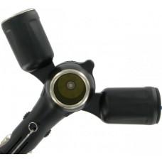 Зарядное устройство автомобильное Kit Quad 2 USB Ports + Разветвитель прикуривателя
