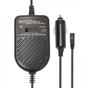 Зарядное устройство универсальное 12V EWDD8040 (80W) (красный блистер)