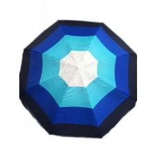 Пляжный зонт c серебряным напылением, регулеровкой наклона купола и металлопластиковыми спицами 08P