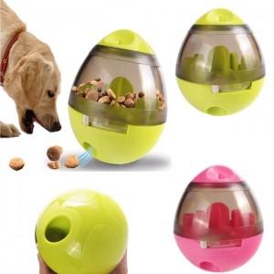 Іграшка інтерактивна для домашніх улюбленців (мяч з отвором для їжі)