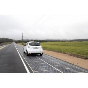 Новости мира: солнечные панели на дороге!