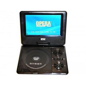 Переносной портативный DVD плеер c TV OPERA OP-998 DVD 9.5 дюймов
