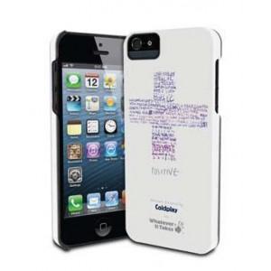 Премиум-чехол для iPhone 5/5S (твердый) - Coldplay