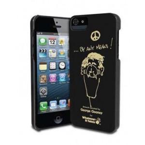 Премиум-чехол для iPhone 5/5S (твердый) - George Clooney