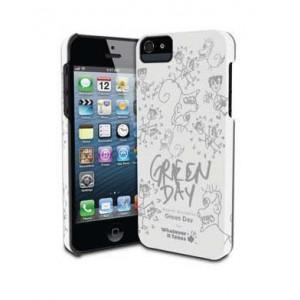 Премиум-чехол для iPhone 5/5S (твердый) - Green Day