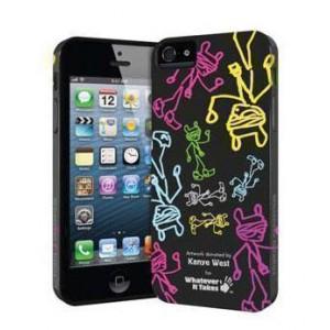 Премиум-чехол для iPhone 5/5S (гелевый) - Kanye West