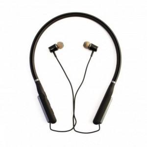 Bluetooth наушники Aspor- A648S LED графит