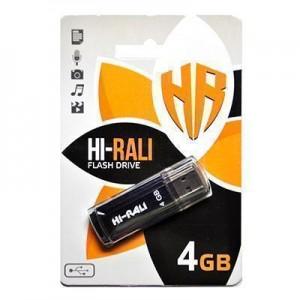 Накопичувач USB 4GB Hi-Rali Stark серiя чорний