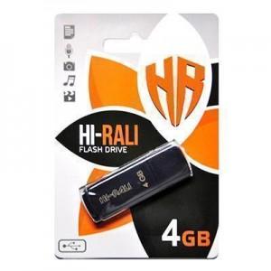 Накопичувач USB 4GB Hi-Rali Taga серiя чорний