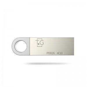Накопичувач USB 4GB T&G металева серія 026