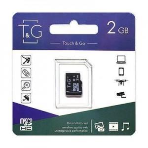 Карта пам'яти microSDHC 2GB T&G (без адаптерів)