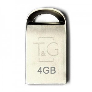 Накопичувач USB 4GB T&G металева серія 107