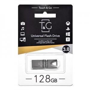 3.0 USB флеш T&G 117 Metal series series 128GB Black