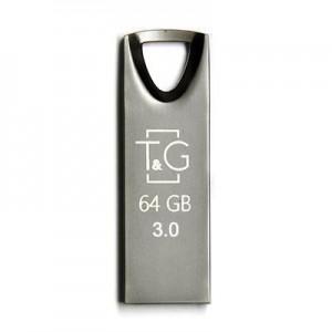 3.0 USB флеш T&G 117 Metal series series 64GB Black