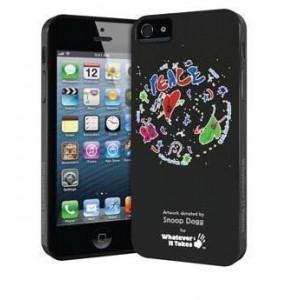 Премиум-чехол для iPhone 5/5S (гелевый) - Snoop Dogg