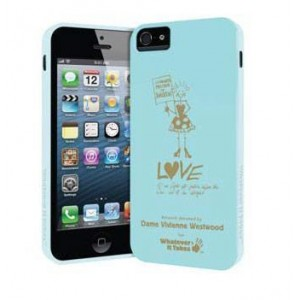 Премиум-чехол для iPhone 5/5S (гелевый)-V.Westwood