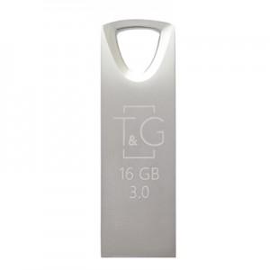 Накопичувач 3.0 USB 16GB T&G металева серія 117 срібло