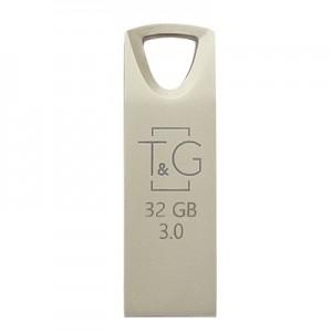 Накопичувач 3.0 USB 32GB T&G металева серія 117 срібло
