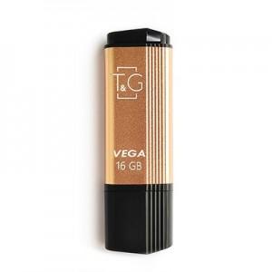 Накопичувач USB 16GB T&G Vega серiя 121 Золотой