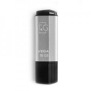 Накопичувач USB 16GB T&G Vega серiя 121 срібло