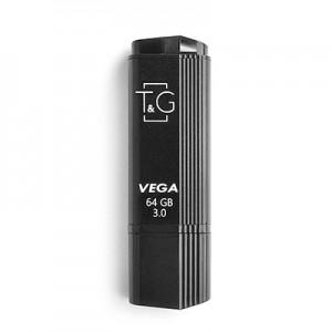 Накопичувач 3.0 USB 64GB T&G VEGA серiя 121 чорний