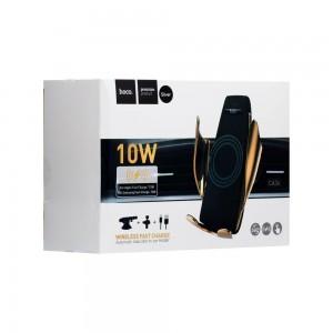Автодержатель Hoco CA34 Wireless Fast Charge