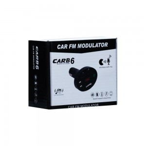 Модулятор Bluetooth Car B6