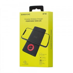 Power Bank Borofone BT16 + Wireless 10000 mAh