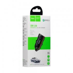 Авто Зарядное Устройство Hoco Z32 Speed Up QC3.0 18W 3A