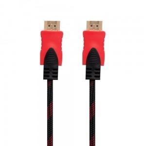 Cable HDMI- HDMI 1.4V 3m (Тканевый провод)