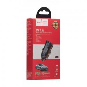 Авто Зарядное Устройство Hoco Z32B Speed UP PD+QC3.0 18W