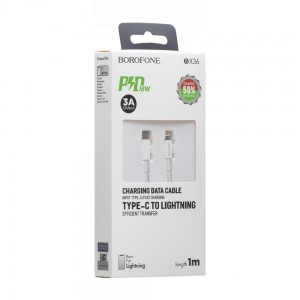USB Borofone BX36 Union PD Lightning 18W