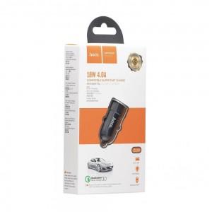 Авто Зарядное Устройство Hoco Z32A Flash Power QC3.0 18W 4A